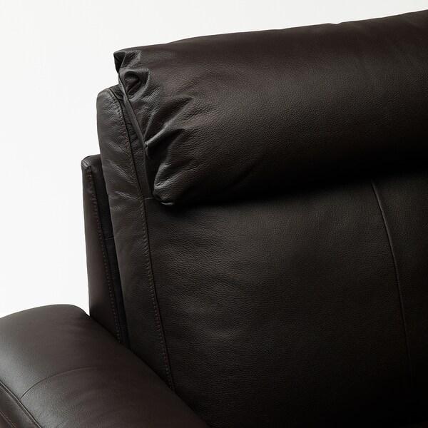 LIDHULT 利胡特 双人沙发床, 哥兰/邦斯塔 深褐色
