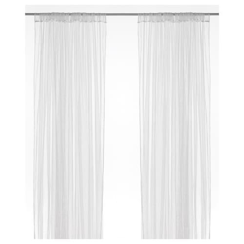 IKEA 利尔 网帘,两幅