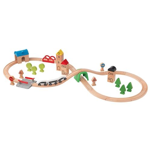 IKEA 利乐宝 玩具火车45件,带轨道