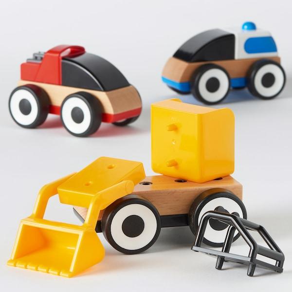 利乐宝 玩具车 多色 11 厘米 7 厘米 12 厘米 3 件