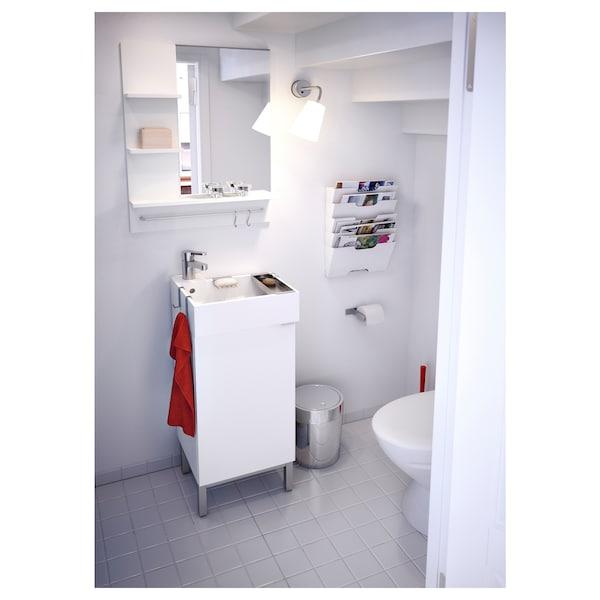LILLÅNGEN 利兰根 镜子, 白色, 60x11x78 厘米