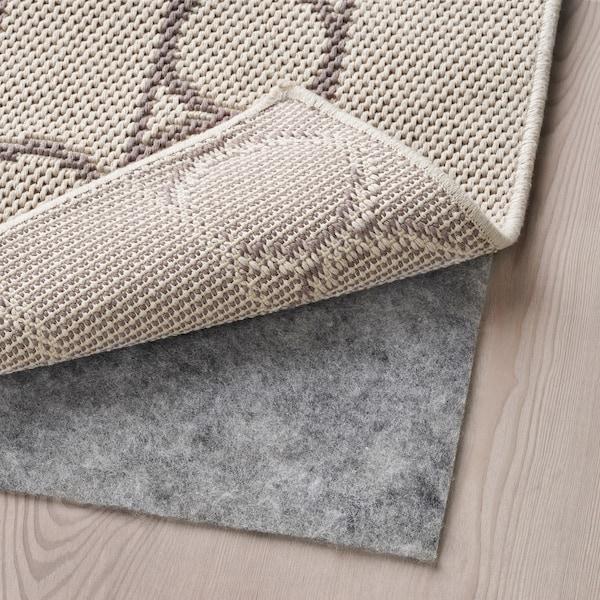 林德侯姆 平织地毯, 米黄色, 160x230 厘米