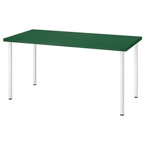 利蒙 / 阿迪斯 桌子 绿色/白色 150 厘米 75 厘米 74 厘米 50 公斤