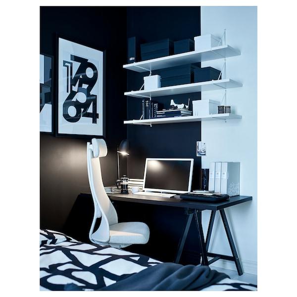 利蒙 / 奥瓦德 桌子 黑褐色/黑色 150 厘米 75 厘米 74 厘米 50 公斤