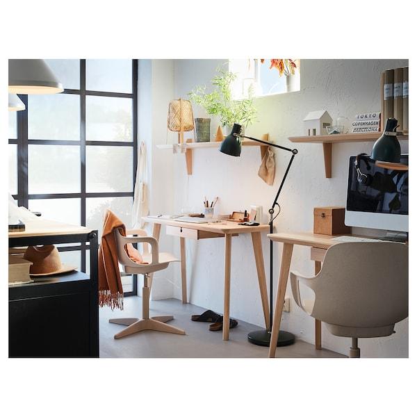 利萨伯 书桌 白蜡木贴面 118 厘米 45 厘米 74 厘米 50 公斤
