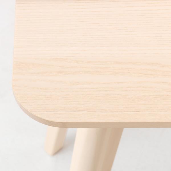 利萨伯 边桌 白蜡木贴面 45 厘米 45 厘米 45 厘米