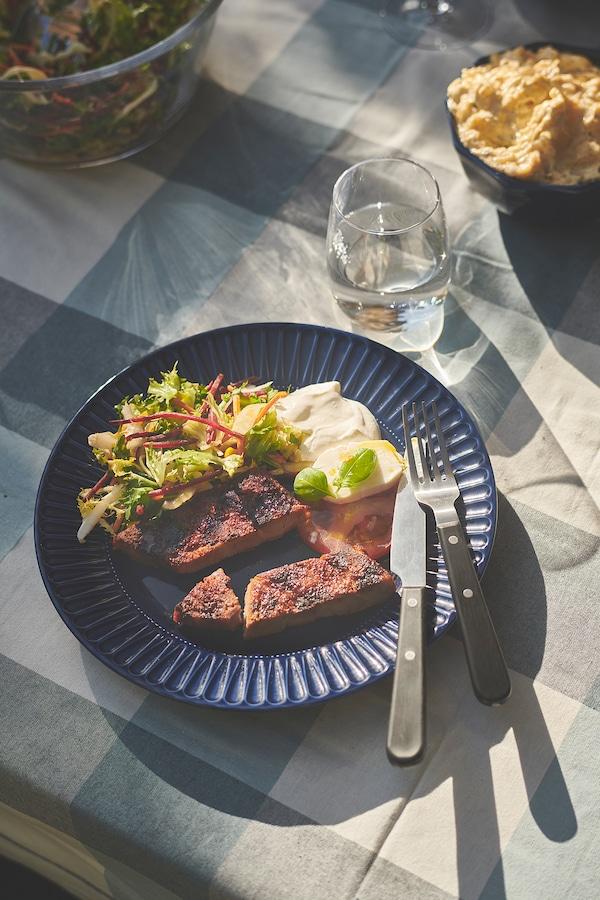 丽芙乃拉 金属餐具24件套 黑色