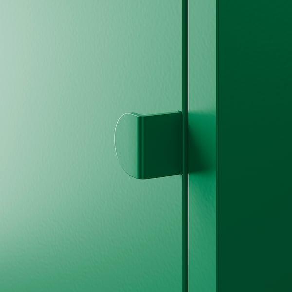 利克胡 柜子 金属/深绿色 35 厘米 35 厘米 35 厘米