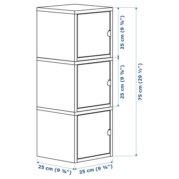 利克胡 储物组合 白色/粉红色 25 厘米 25 厘米 75 厘米