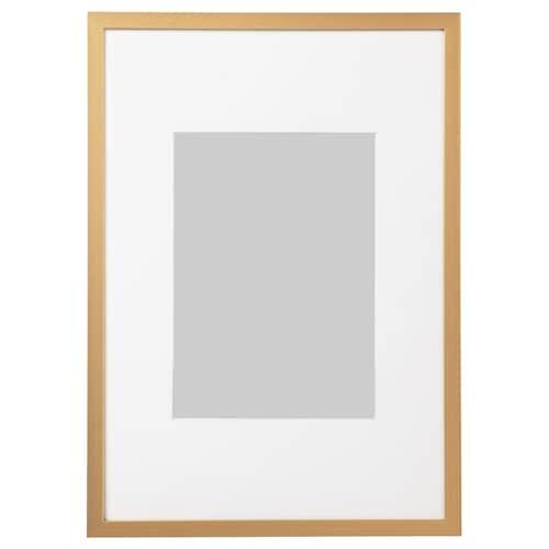 隆维肯 画框, 金黄色, 21x30 厘米