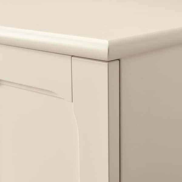 鲁马尔普 电视柜, 淡米色, 159x45x81 厘米