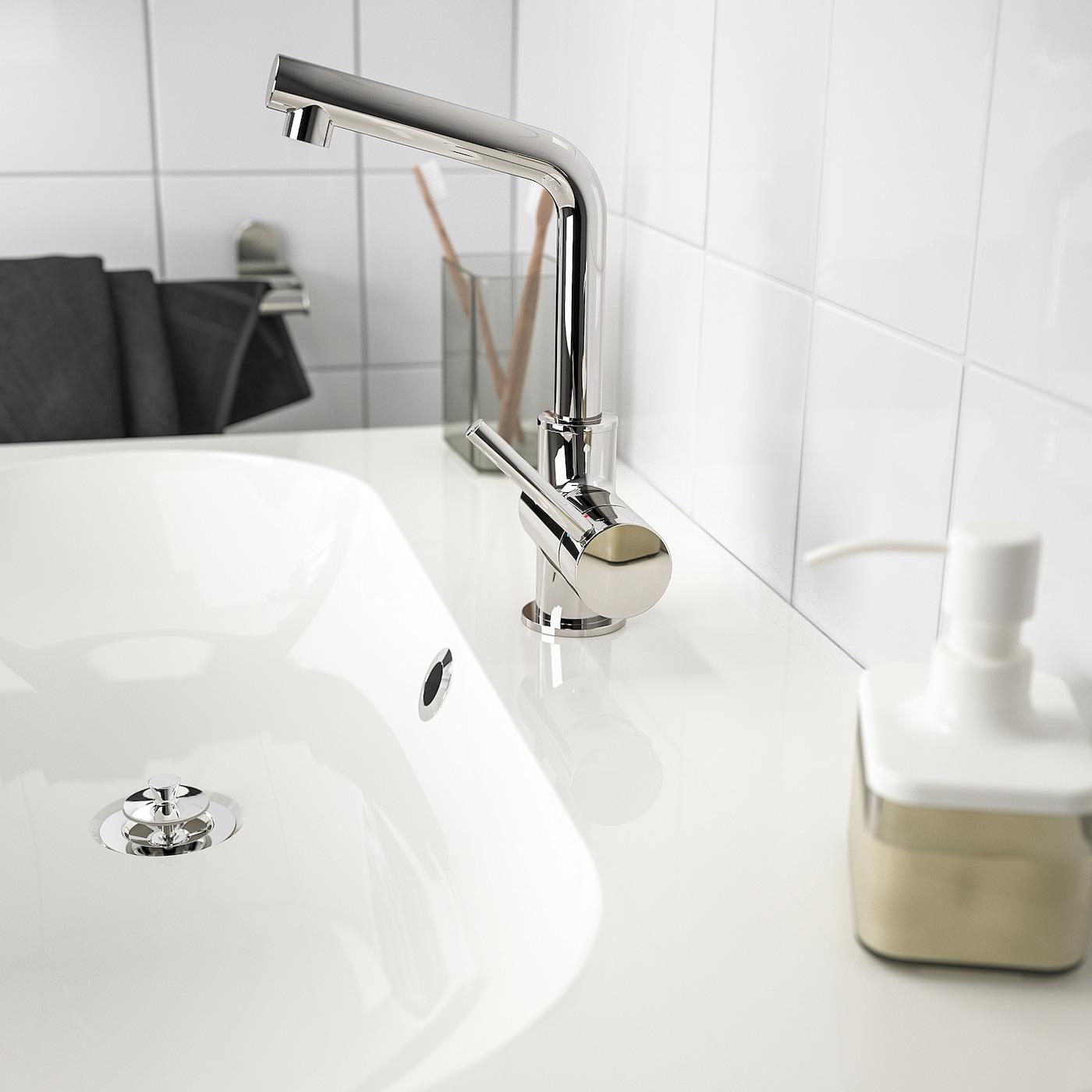 LUNDSKÄR 伦斯卡 洗脸池水龙头,带过滤器, 镀铬