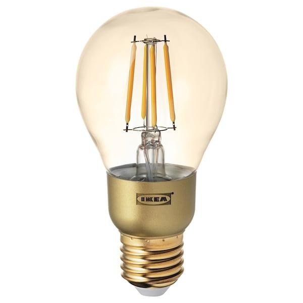 兰诺 LED灯泡 E27 400流明 可调光的/球形 褐色透明玻璃 2200 开尔文 60 毫米 4.2 瓦特