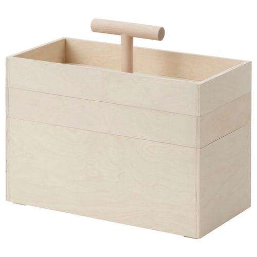 罗瓦露 储物箱, 桦木胶合板, 36x18x31 厘米