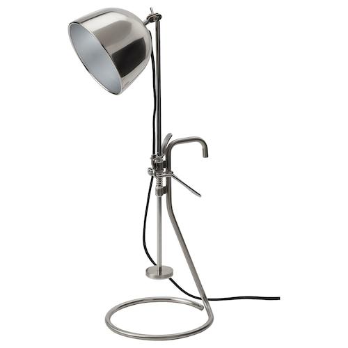 罗瓦露 夹式台灯, 不锈钢