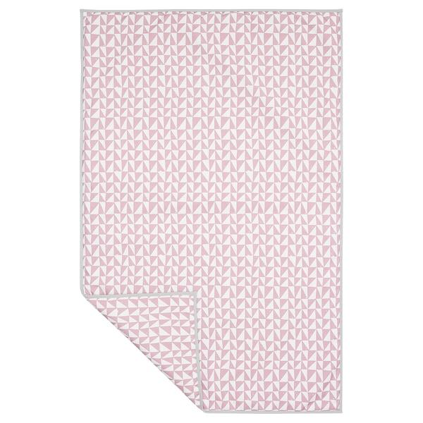 乐维格 宠物专用毯 粉红色/三角形 150 厘米 100 厘米