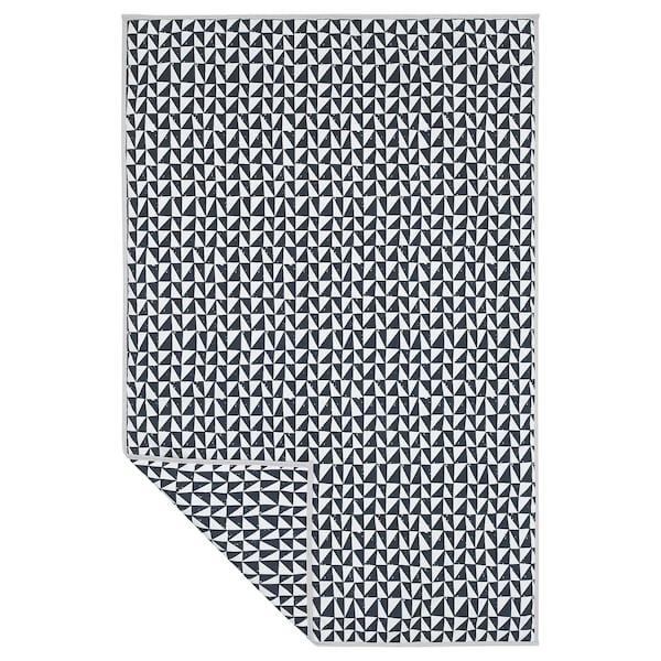 LURVIG 乐维格 宠物专用毯, 黑色/三角形, 100x150 厘米