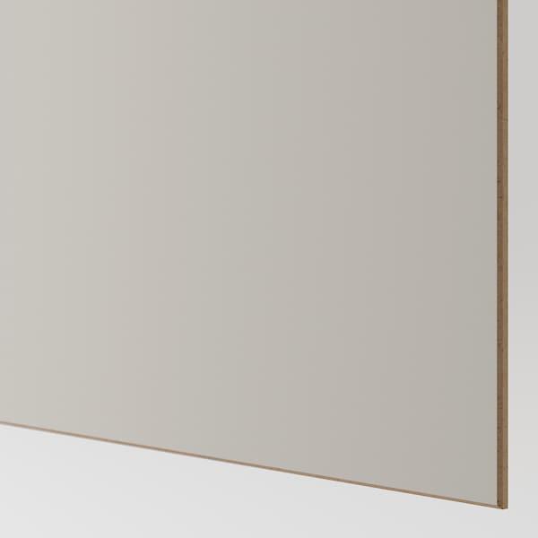 马汉姆 双滑动门, 仿橡木/淡灰色, 150x201 厘米