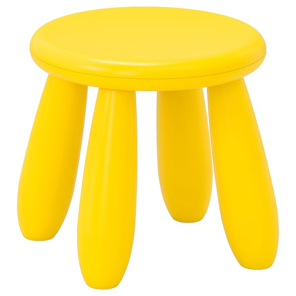 玛莫特 儿童凳, 室内/户外/黄色