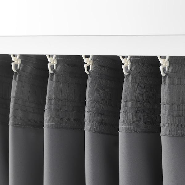 梅格尔 遮光窗帘,两幅 灰色 250 厘米 145 厘米 2.00 公斤 3.63 平方米 2 件