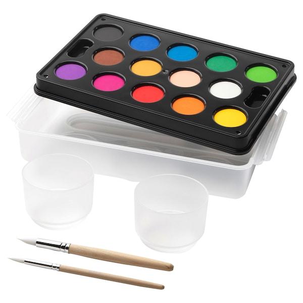 莫拉 水彩盒 多色