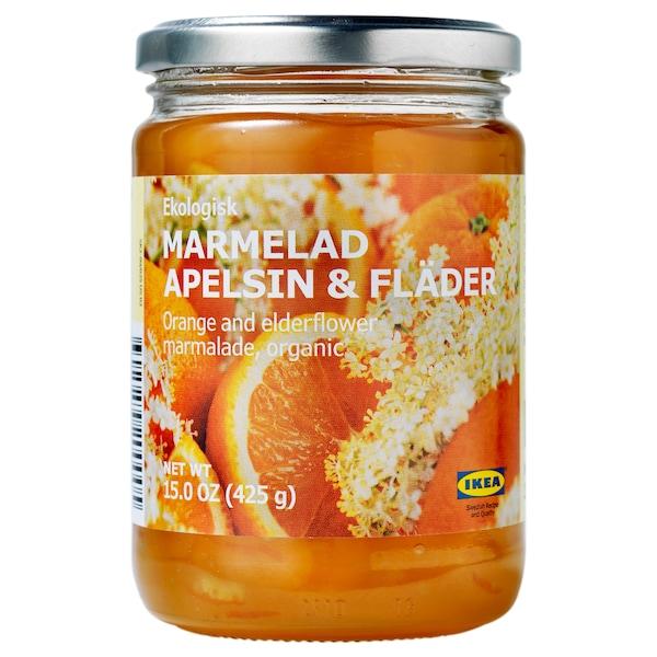 MARMELAD APELSIN & FLÄDER 接骨木橘子果酱, .