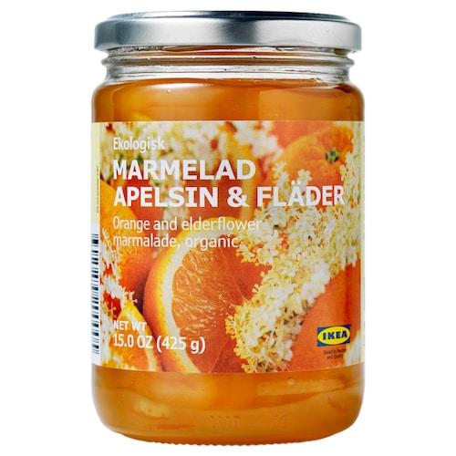 IKEA MARMELAD APELSIN & FLÄDER 接骨木橘子果酱