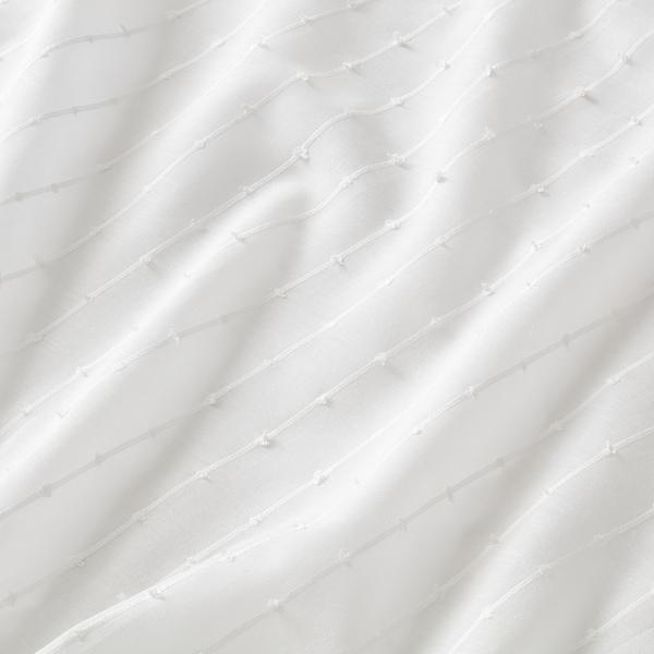 马迪尔达 窗帘,2幅 白色 250 厘米 140 厘米 0.50 公斤 3.50 平方米 2 件