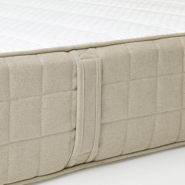 毛松德 天然乳胶床垫 中等硬度 自然色 200 厘米 150 厘米 20 厘米