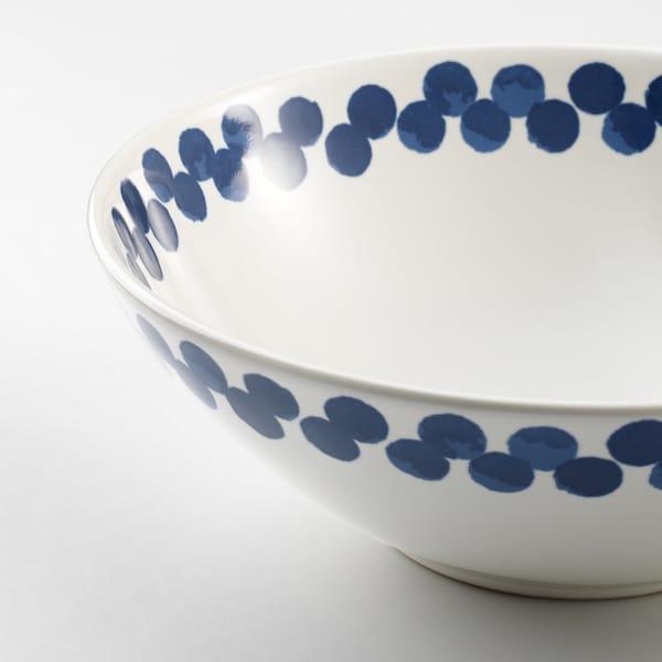 麦德伦 碗 白色/蓝色/图案 7 厘米 19 厘米