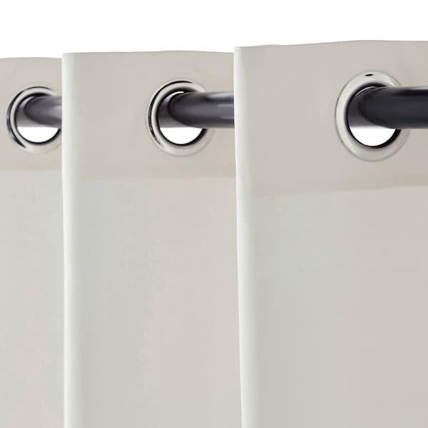 麦瑞特 窗帘,一对 白色 250 厘米 145 厘米 2.30 公斤 3.63 平方米 2 件