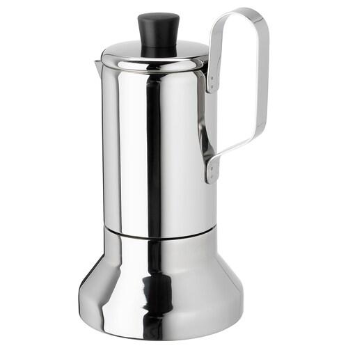 梅塔里斯克 意式咖啡壶 不锈钢 22 厘米 12 厘米 0.4 公升