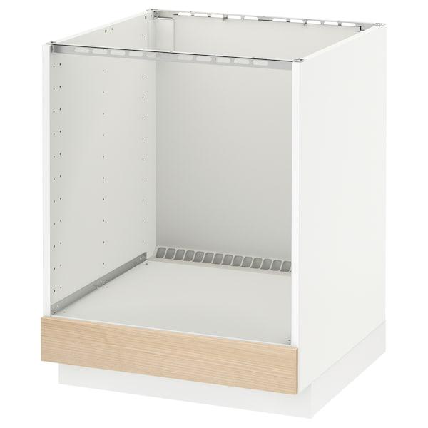 米多 灶具底柜 白色/图汗 白蜡木 60.0 厘米 61.8 厘米 60.0 厘米 70.0 厘米