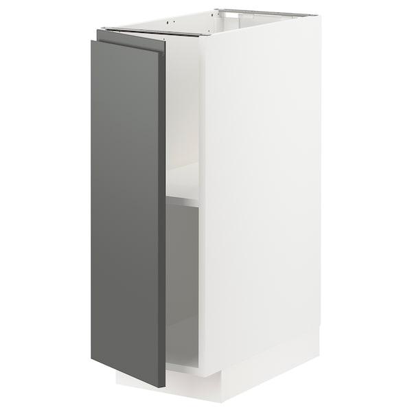 米多 底柜带搁板 白色/沃托普 深灰色 30.0 厘米 60 厘米 61.6 厘米 80.0 厘米