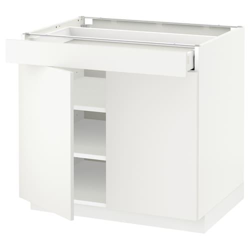 米多 / 马斯麦 底柜/搁板/抽屉/2个门 白色/哈格比 白色 80.0 厘米 61.6 厘米 60 厘米 70 厘米