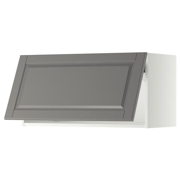 米多 水平吊柜 白色/伯德比 灰色 80.0 厘米 37 厘米 38.9 厘米 40.0 厘米