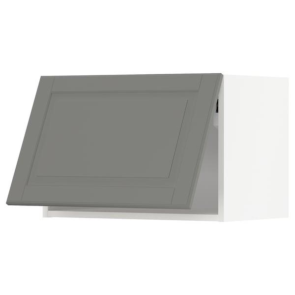 米多 水平吊柜 白色/伯德比 灰色 60.0 厘米 37 厘米 38.9 厘米 40.0 厘米