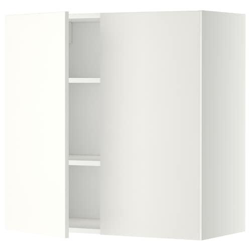 米多 搁板/双门壁柜 白色/哈格比 白色 80.0 厘米 37 厘米 38.6 厘米 80.0 厘米