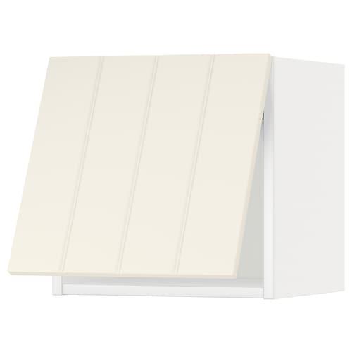 米多 水平推进式门壁柜, 白色/希塔普 灰白, 40x37x40 厘米