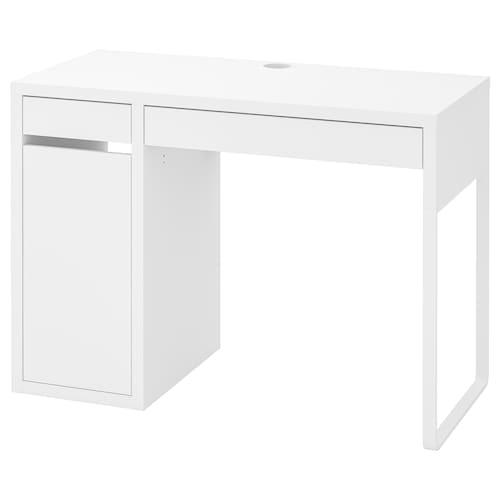 米克 书桌, 白色, 105x50 厘米