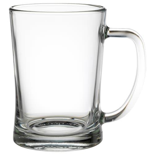 米约德 啤酒杯, 透明玻璃, 60 厘升