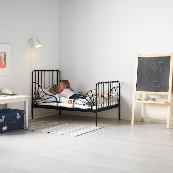 米隆 加长床框架带床板 黑色 135 厘米 206 厘米 85 厘米 72 厘米 92 厘米 23 厘米 100 公斤 200 厘米 80 厘米