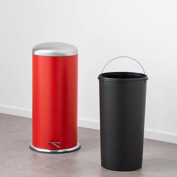米约萨 踏板式垃圾桶 红色 68 厘米 33 厘米 30 公升