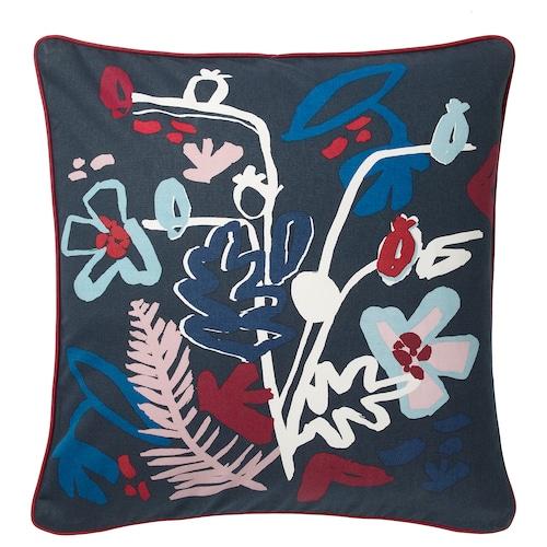 莫拉波什 垫套, 深蓝色/多色, 50x50 厘米
