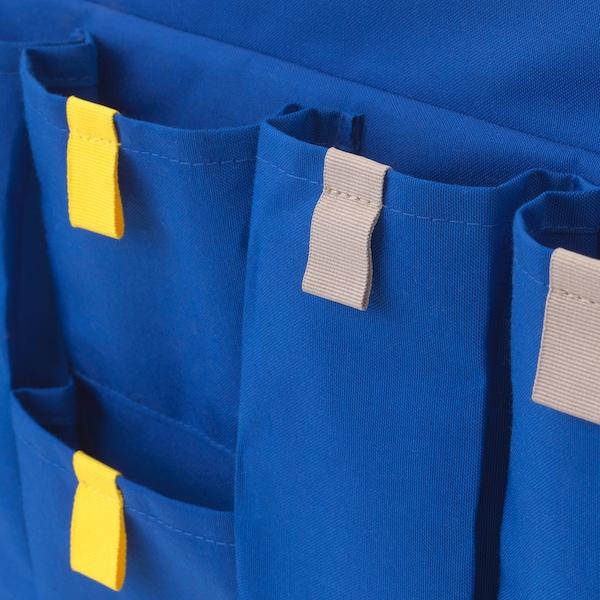 MÖJLIGHET 莫伊里黑特 床边挂袋, 蓝色, 75x27 厘米