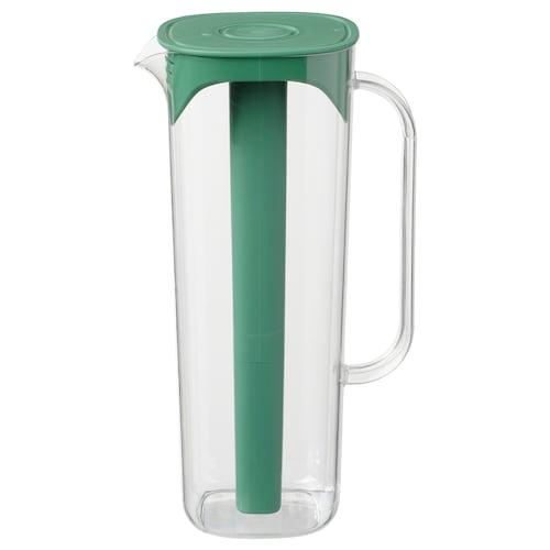 默帕 附盖罐 绿色/透明 28 厘米 1.7 公升