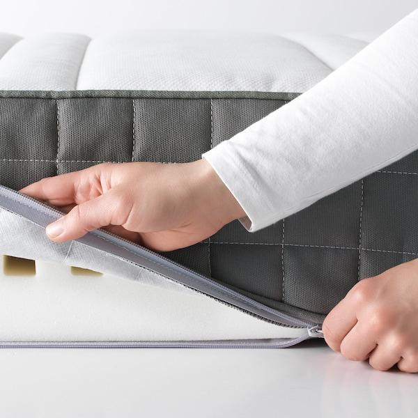 MORGEDAL 莫戈多 乳胶床垫, 中等硬度/深灰色, 150x200 厘米