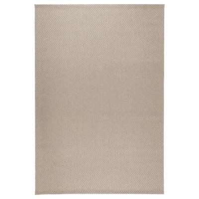 MORUM 莫鲁 平织地毯,室内/户外, 米黄色, 200x300 厘米
