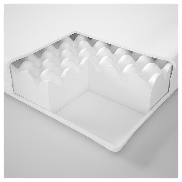 穆索特 泡沫床垫 硬型/白色 200 厘米 90 厘米 10 厘米