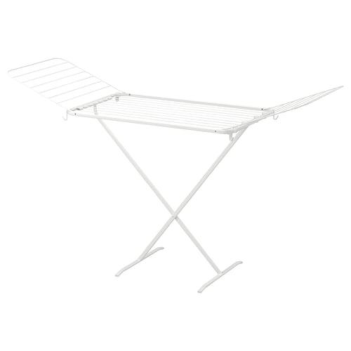 穆利格 晾衣架,室内/户外 白色 173 厘米 57 厘米 103 厘米
